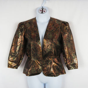VINTAGE Yvette Metallic Jacket